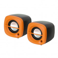 Boxe USB Omega 2.0 6W OG15BL ORANGE - Boxe PC