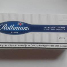 Tuburi pentru tigari Rothmans cu Carbon 100 buc /cutie - Filtru tutun