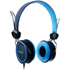 CASTI MICROLAB K300 BLUE K300-BB, Casti On Ear, Cu fir, Mufa 3, 5mm