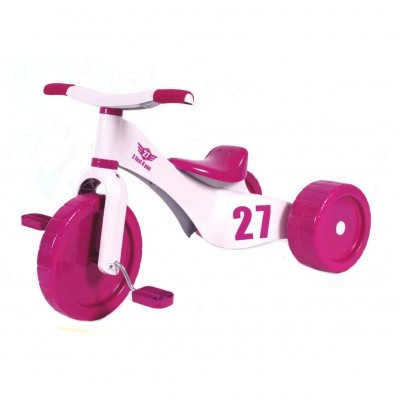 Tricicleta copii Palau 3 in 1 plastic Custom Trike Roz foto