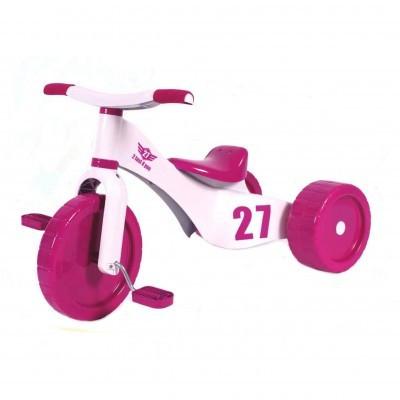 Tricicleta copii Palau 3 in 1 plastic Custom Trike Roz foto mare