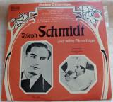 LP:JOSEPH SCHMIDT UND SEINE GROSSEN FILMERFOLGE'69HISTORIA MUNCHEN/UNATEX ISRAEL, VINIL