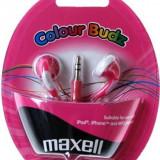 CASTI MAXELL STEREO COLOUR BUDZ PINK 303358.02.CN - Casti Telefon