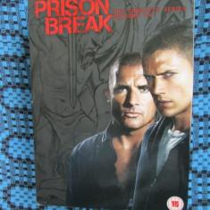 PRISON BREAK (DVD - SEZOANELE 1 - 4, 23 DISCURI, APROX. 3418 MINUTE - CA NOI!!!) - Film serial, Aventura, Engleza