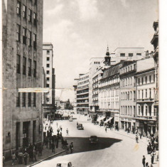 CPI (B7393) CARTE POSTALA - BUCURESTI. CALEA VICTORIEI, 1959, R.P.R. - Carte Postala Muntenia dupa 1918, Circulata, Fotografie