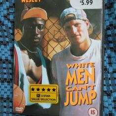 WHITE MAN CAN'T JUMP (1 DVD ORIGINAL cu WESLEY SNIPES si WOODY HARRELSON), Engleza