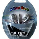 CASTI MAXELL STEREO COLOUR BUDZ SILVER 303362.02.CN - Casti Telefon