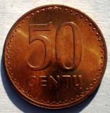 1.676 LITUANIA 50 CENTU 1991 AUNC, Europa, Bronz