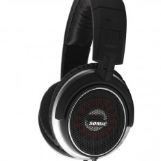 CASTI SOMIC MH463, Casti On Ear, Cu fir, Mufa 3, 5mm, Active Noise Cancelling