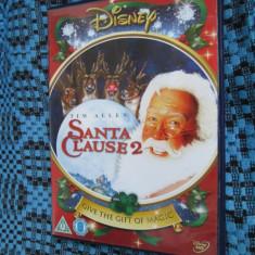 SANTA CLAUSE 2 (1 DVD ORIGINAL cu TIM ALLEN) - Film comedie, Engleza