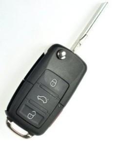 Cheie Briceag VW Passat B5.5 3 Butoane Completa COD 1J0 959 753 AH 433MHZ foto