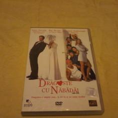 Dvd comedie. Dragoste cu nabadai - Film comedie Altele, Romana