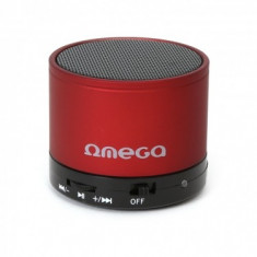 OMEGA BLUETOOTH SPEAKER v3.0 OG47 RED - Boxe PC
