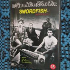 SWORDFISH (1 FILM DVD ORIGINAL cu JOHN TRAVOLTA si HALLE BERRY), Engleza