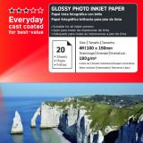 HARTIE FOTO AGFA GLOSSY INKJET 10X15 180G/100COLI