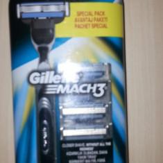 Aparat Mach 3 +5 rezerve mach 3 Gillette