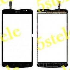 Touchscreen LG L80 Dual/D380 Black original - Touchscreen telefon mobil