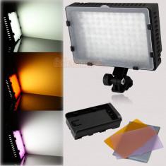 Lampa foto-video cu 126 leduri, noua la cutie - Lampa Camera Video