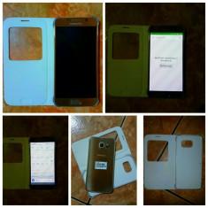 Vand Samsung S6 simplu - Telefon mobil Samsung Galaxy S6, Auriu, 32GB, Neblocat