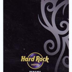 Card plastic intrare camera hotel Hard Rock Megapolis Panama - lot colectie