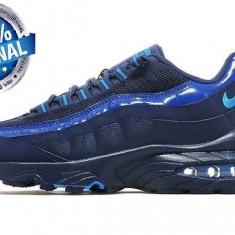 ADIDASI ORIGINALI 100% Nike Air Max '95 din germania UNISEX nr 38.5 - Adidasi barbati, Culoare: Albastru