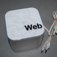 ROUTER/ FLYBOX/ WEBCUBE HUAWEI B183 DECODAT LIBER RETEA HSPA+ DL 21.6Mbit/s - Router wireless Alta, Porturi LAN: 1