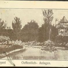 Carte postala, UPU, Focsani,, 1917, circulata. FELDPOST - Carte Postala Muntenia 1904-1918, Printata