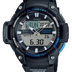 Casio SGW-450H-1AER ceas barbati nou 100% original. Garantie. livrare rapida - Ceas barbatesc Casio, Casual, Quartz, Inox, Cauciuc, Altimetru