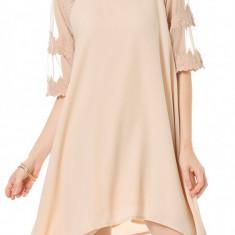 Rochie cu detaliu dantela, Vero Moda - 10156208 roz pudrat - Rochie de zi
