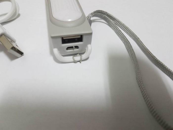 Baterie externa Power Bank 2600mAh acumulator extern micro USB foto mare