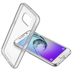 Husa Protectie Spate Cellularline CLEARDUOGALA316T Bi-Component Transparent pentru Samsung Galaxy A3 2016 - Husa Telefon