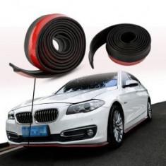 Prelungire bara din cauciuc - NEGRU cu ROSU - Ornament Auto