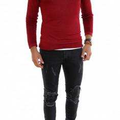 Pulover grena - pulover barbati - cod 7320, Marime: L, XL, Culoare: Din imagine