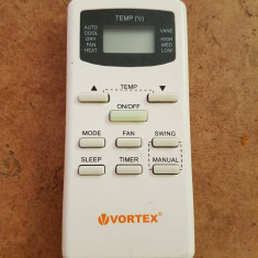 Telecomanda aer conditionat VORTEX ORIGINALA, IMPECABILA ( AC ),