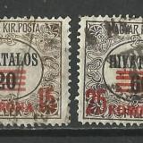 UNGARIA SUPRATIPAR--1922, Stampilat
