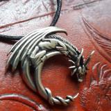 Pandantiv talisman Dragon - argint - Pandantiv fashion