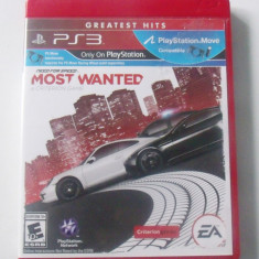 Need for Speed Most Wanted PS3 Game English Version SUA - Jocuri PS3 Electronic Arts