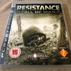 Joc Resistance Fall of Man, PS3, original, alte sute de jocuri! - Jocuri PS3 Sony, Shooting, 18+, Multiplayer
