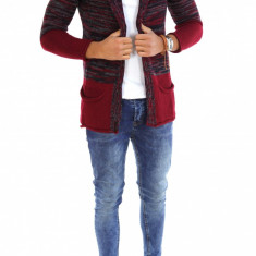Cardigan tip ZARA fashion - Cardigan barbati - 7300 - Hanorac barbati, Marime: XL, Culoare: Din imagine