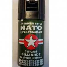 Spray lacrimogen cu piper NATO pentru autoaparare - Spray paralizant