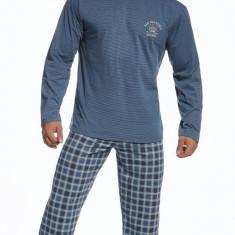 Pijama barbati - Cornette - 124-68 Forest - Pijamale barbati, Marime: S, Culoare: Albastru