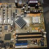 Placa de baza pc, cu procesor INTEL HT de 3000 mhz