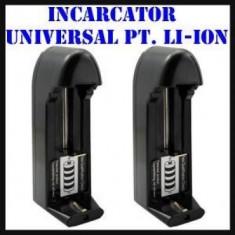 Incarcator Acumulator 18650, Charger 18650 - Incarcator Aparat Foto