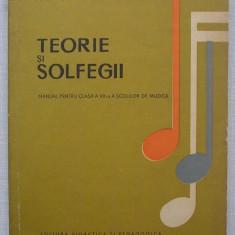 Matei Jurebita - Teorie si Solfegii (manual pt. cl. a VII-a scoli de muzica)