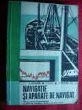 P.Butusina -Navigatie si Aparate de Navigat Ed.1977+harta hidrografica a Dunarii