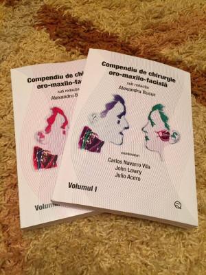 Compendiu de chirurgie oro-maxilo-faciala (vol1 si 2) de Alexandru Bucur foto