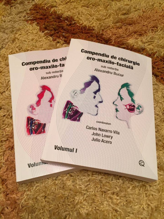 Compendiu de chirurgie oro-maxilo-faciala (vol1 si 2) de Alexandru Bucur