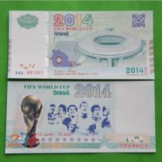 Brazilia - FIFA World Cup 2014 (bancnota test) - UNC - bancnota america