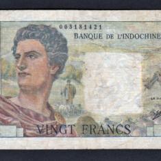 Noua Caledonie 20 francs [2] 1963 P#50c