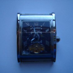 Ceas Cartier automatic defect - pentru piese - Ceas barbatesc Cartier, Lux - elegant, Mecanic-Automatic, Fazele lunii, Analog, 50 m / 5 ATM